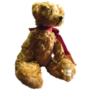 Adorable mohairTeddy bear Humphrey