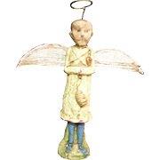 Primitive Angel Bee keeper by Debbee Thibault