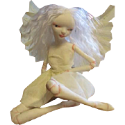 Amazing sculpted Fairy OOAK