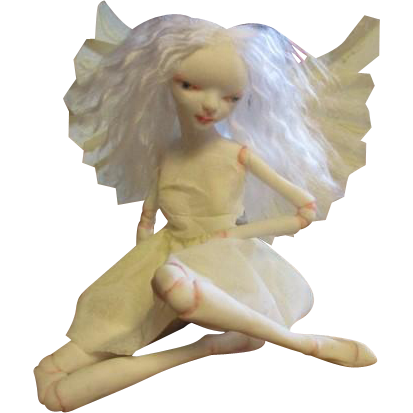 Amazing sculpted Fairy OOAK
