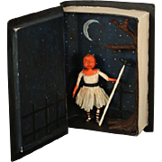 Spooktacular Shadow Box  Halloween Doll  OOAK