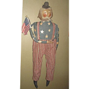 Great Patriotic primitive large  Uncle Sam