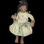 Wonderful sassy bisque Black doll