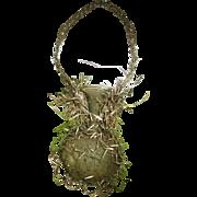 Gorgeous antique blown glass Christmas bulb