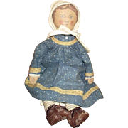 Incredible cloth doll Gail wilson/Kathy Gregg OOAK
