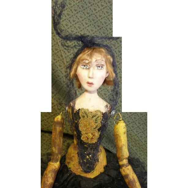 Santos original witch sculpt by Jude Kapron