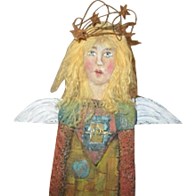 Angel original primitive sculpt by Jude Kapron