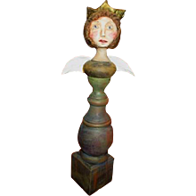 Angel blessing original sculpt by Jude Kapron