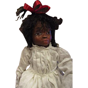 Black doll sculpted by Jude Kapron OOAK