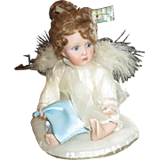 adorable bisque Angel by cindy McClure