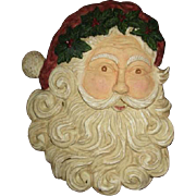 Great hanging Santa face
