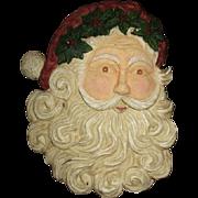 Great hanging Santa face