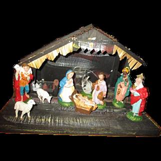 Awesome vintage Nativity