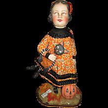 Amazing Halloween original doll by Allen Cunningham