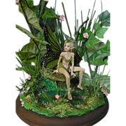 Gorgeous one of a kind Fairy sculpture