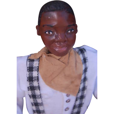 Darling little Black boy -Sculpted OOAK
