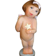 Darling little Angel doll by Pat Kolesar