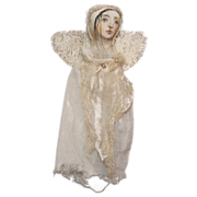 Primitive Folk Art Angel