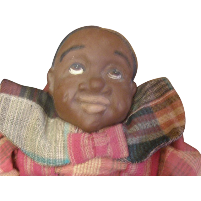 Great Black clown doll