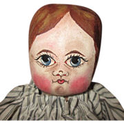 Folk art hand painted doll OOAK
