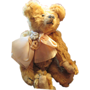 Adorable mohair artist Bear