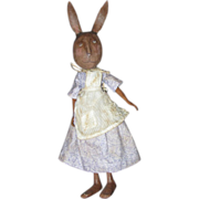 Primitive  Bunny Rabbit   sculpted OOAK