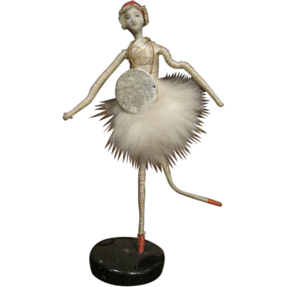 Beautiful vintage bisque head Ballerina