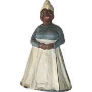 Adorable primitive Folk art Aunt Jemimah/Mammy