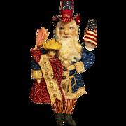 Amazing  Uncle Sam Santa