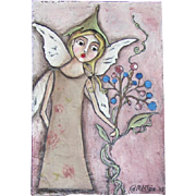 Wonderful original Fairy painting