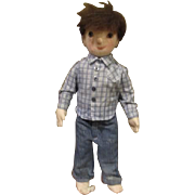 Darling country boy doll