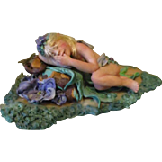 Fairy baby by Cindi Cannon ooak