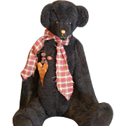 Primitive artist Teddy Bear