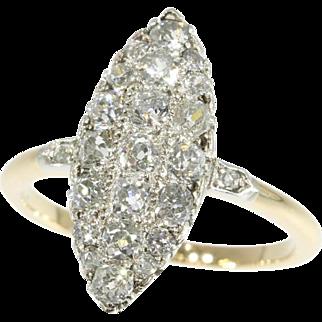 Belle Epoque Diamond Engagement Ring ca.1900