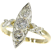 Belle Epoque Diamond Ring ca.1920