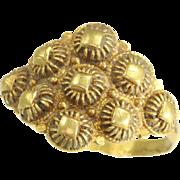 18th Century Filigree Gold Ring ca.1797