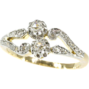 Belle Epoque Diamond Engagment Ring ca.1900