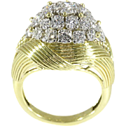 Diamond and Gold Ring by Mauboussin ca.1950