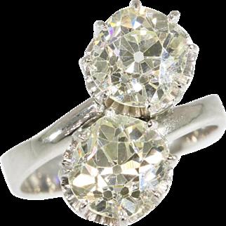 Antique Diamond Engagement Ring ca.1910