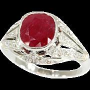 Art Deco Ruby Ring ca.1920