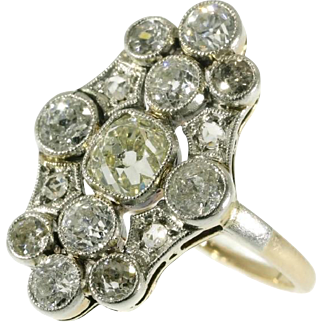 Art Deco Diamond Engagement Ring ca.1920