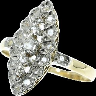 Diamond and Yellow Gold Ring ca.1910