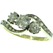 Belle Epoque Diamond Ring ca.1900