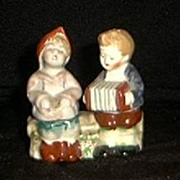 """Occupied Japan"" Figural Salt And Pepper Shakers"