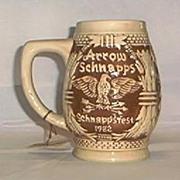 1982 Limited Edition Arrow Schnappsfest Stein