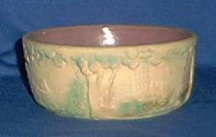 Pottery Planter With Raised Decoration