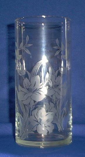 Crystal Cylinder Vase By Pasabahee of Turkey