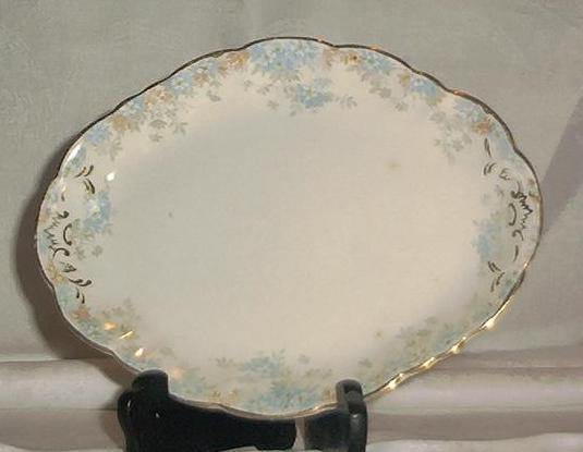 "Doulton ""Burslem"" Condiment Tray In ""Kathryn"" Pattern"