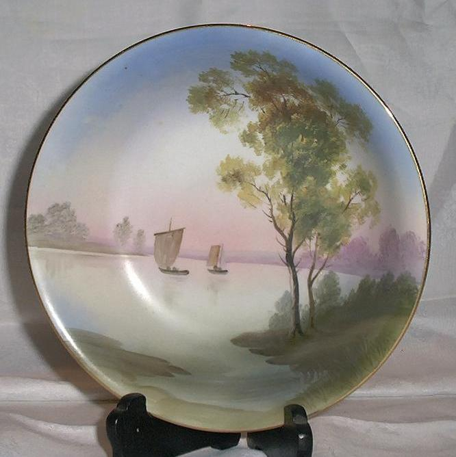 Beautiful Hand Painted Noritake Bowl