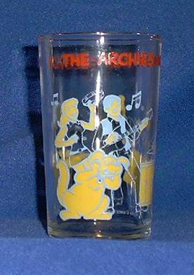 "1971 Welch's Promotional ""Archie"" Character Glass"